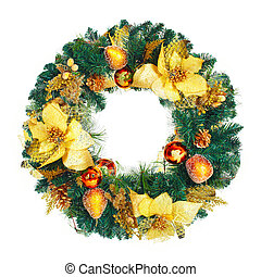 Christmas Garland. - Christmas decorative garland ornament....