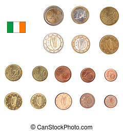 Euro coin - Ireland - Euro coins including both the...
