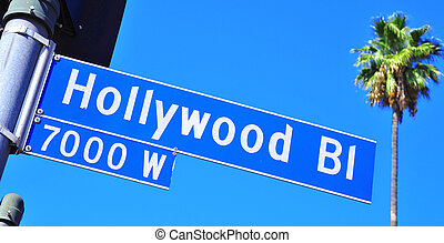 Hollywood Boulevard sign