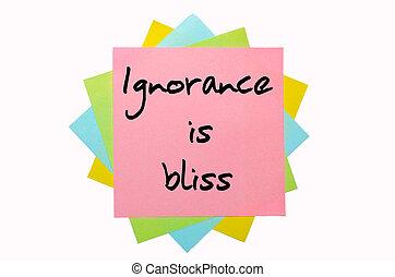 """proverbio, """", ignorancia, dicha, """", escrito, ramo,..."""