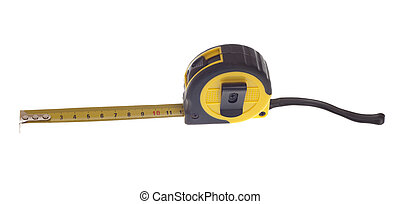 Tape Measure - One foot on a tape measure.