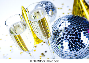 Champagne,New Years, Celebration