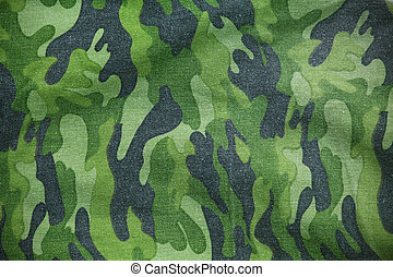 Military back pocket - Military fabric pattern as background