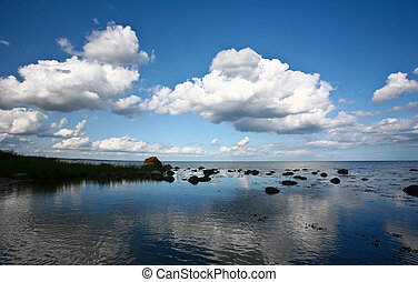 Coastal Sweden - Nature in south Sweden in the province of...