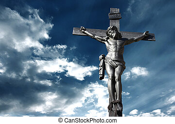 Crucifixion - Illustration of the crucifixion of Jesus...