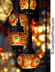 Traditional Turkish lamps