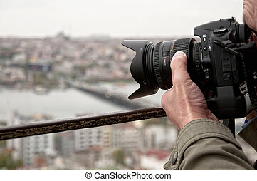 Photographer shoot in Istanbul