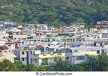 Rural villages in Hong Kong
