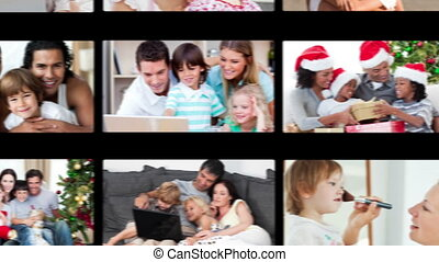 Hand dragging family videos - Hand dragging family at home...