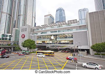Apple Inc. opened in Hong Kong - HONG KONG - SEPT 25, Apple...