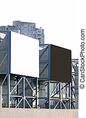 Blank billboard outdoor for advertisment
