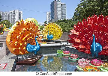 Mid-Autumn, lanterna, carnaval