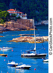 Costa Brava - Beautiful bay on the spanish coast (Costa...