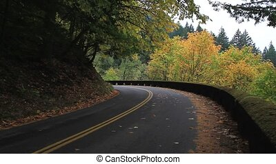 Historic Hwy 30 in Portland Oregon - Historic Scenic Highway...
