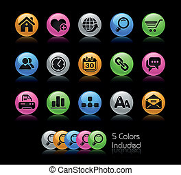 Web Site and Internet Gelcolor - The EPS file includes 5...