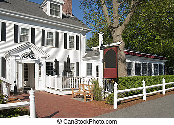 Bed and breakfast country inn located in old New England