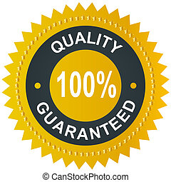 Vector sticker - quality 100 guaranteed