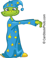 Cartoon Character Sleepwalker - Cartoon Character...