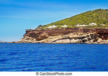 Ibiza Sa Talaia coast in Balearic islands