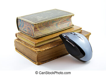 E-books - Three old books printed in the 1700's with a...
