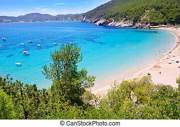 Ibiza Cala de Sant Vicent caleta de san vicente beach...