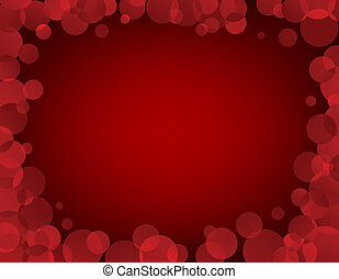Red Vector Frame