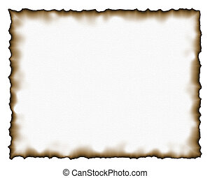 Burned paper texture illustration suitable for backgrounds