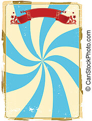 circus grunge background - A circus background for a poster.
