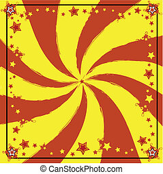 red and yellow background - A background for a card