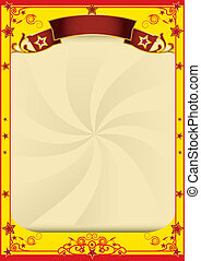 Star circus background - A background for your advertising
