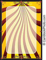 Gold circus background - A background for your advertising