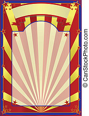 circus - A background for your advertising