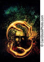 místico, identidad, garras