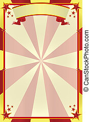 circus background3 - A poster circus for your show