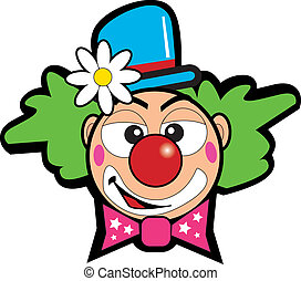 clown - face of a clown