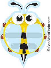 Bee - little cartoon insect for you.