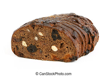 Rye bread with hazelnuts and fruits