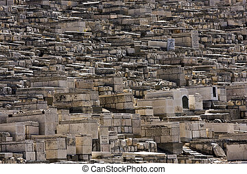 Old cemetery in Jerusalem