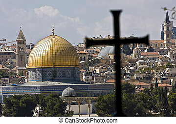 Temple mount in Jerusalem - Temple mountain in Jerusalem -...