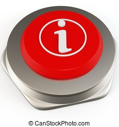 3d red button information