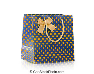 shopping bags - Shopping bags isolated on the white...
