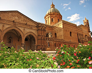 Duomo of Palermo - Palermos cathedral in Sicily, Italy