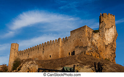 Castle of Frias, Burgos, Castilla y Leon, Spain