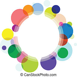 circle background - abstract circle background