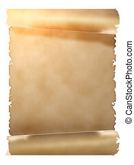 parchment scroll