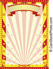 Circus for ever - A circus background for your advertising