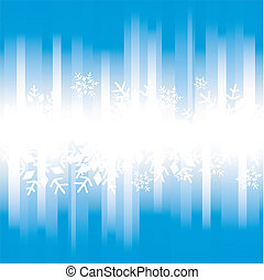 freeze - A christmas background for a postcard