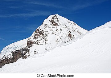 Eiger Famous mountain in the Jungfrau region