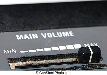 main volume loudness - min max controller for main volume...