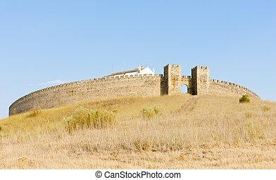Arraiolos, castillo, Alentejo, portugal